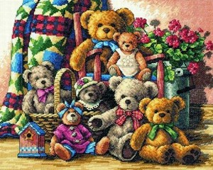 Изображение Собрание мишек Тедди (Teddy Bear Gathering)