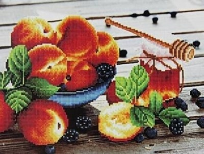 Изображение Персики и мед