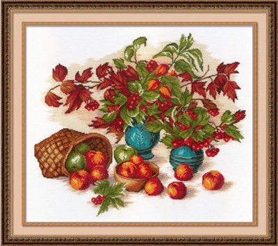 Изображение Натюрморт с листьями