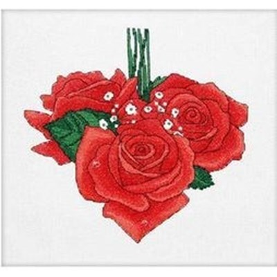 Изображение Розы сердце. Февраль