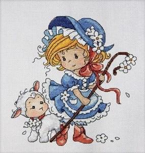 Изображение Маленькая пастушка