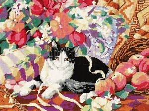 Изображение Кошка на софе (Cat On A Sofa)