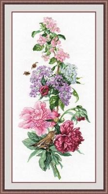 Изображение Цветочная композиция. Пионы