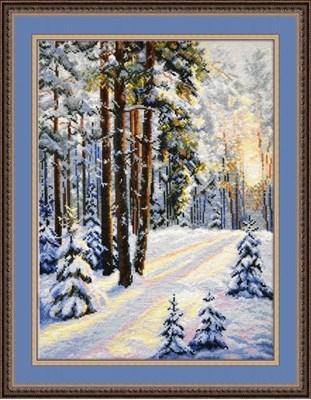 Изображение Зимняя дорога