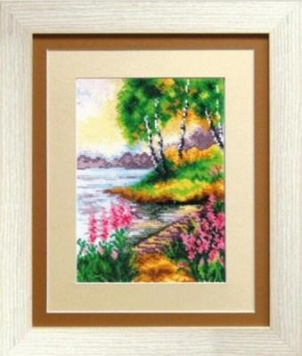 Изображение Мост в розовых цветах