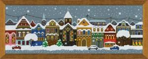 Изображение Рождественский город