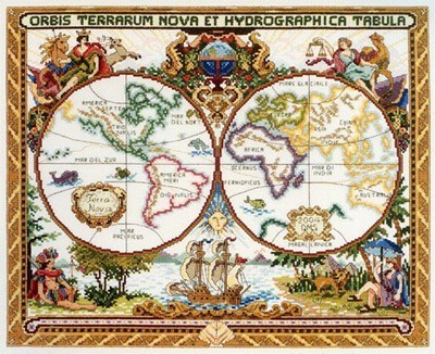 Изображение Старая карта