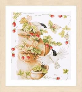 Изображение Клубника и птицы (Strawberries and Birds)