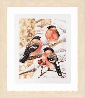 Изображение Снегири (Bullfinch)