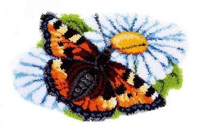 Изображение Бабочка (коврик) (Butterfly on Daisy)