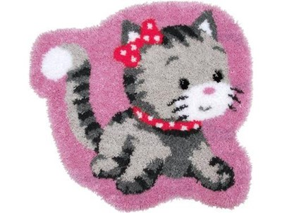 Изображение Котёнок (коврик) (Shaped Cat)