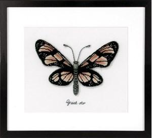 Изображение Оранжевая бабочка (Orange Butterfly)