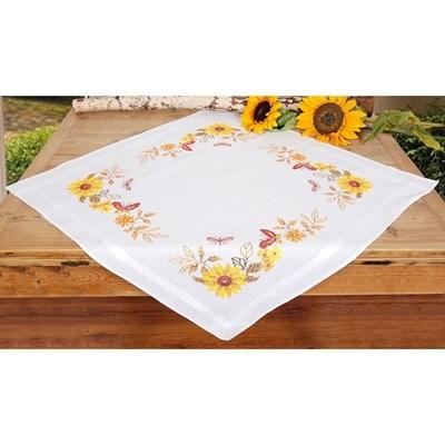 Изображение Бабочки и подсолнухи (скатерть) (Sunflowers and Butterflies)