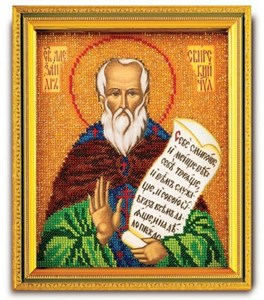 Изображение Икона Святой Александр Свирский