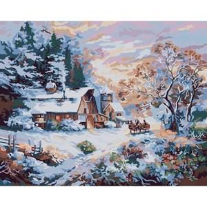 Изображение Снежная вечерняя прогулка (Snowy Evening Outing)