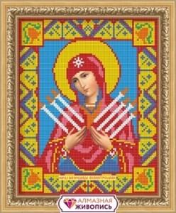 Изображение Икона Семистрельная Богородица