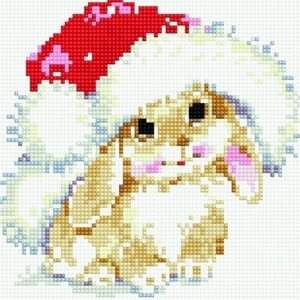 Изображение Зимний зайчишка
