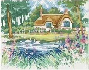 Изображение Домик у пруда