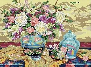 Изображение Натюрморт с цветами