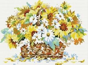 Изображение Букет полевых цветов
