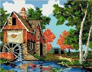 Изображение Водяная мельница