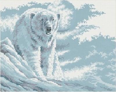 Изображение Белый мишка