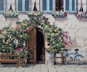 Изображение Стена в цветах
