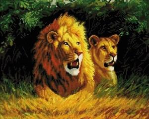 Изображение Семейство львов