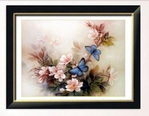 Изображение Синие бабочки