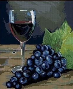 Изображение Натюрморт с вином