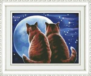 Изображение Влюблённые коты