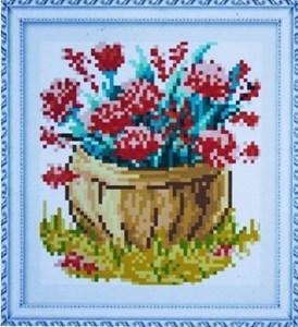 Изображение Корзина цветов