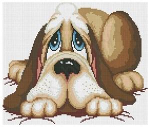 Изображение Грустный пёс