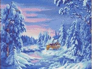 Изображение Зимний лес