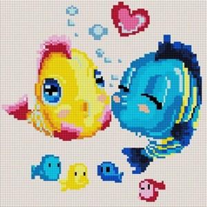 Изображение Влюблённые рыбки
