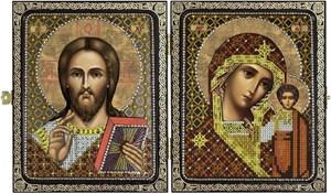 Изображение Христос Спаситель и Пресв.Богородица Казанская