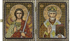 Изображение Николай Чудотворец и Ангел Хранитель