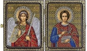 Изображение Святой Великомученник Целитель Пантелеймон и Ангел Хранитель