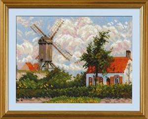 Изображение Ветряная мельница в Кноке