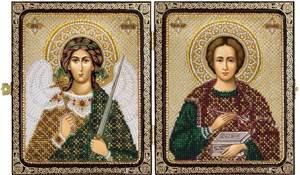 Изображение Святой Великомученик Целитель Пантелеймон и Ангел Хранитель