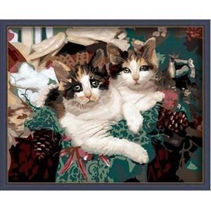 Изображение Котята в корзинке