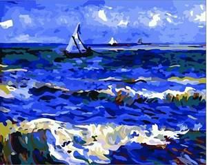 Изображение Парусник в море