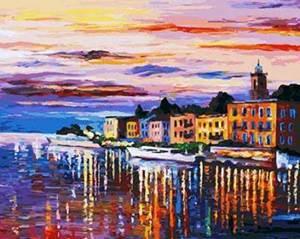 Изображение Отражение ночного города
