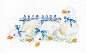 Изображение Три гуся