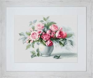 Изображение Этюд с чайными розами