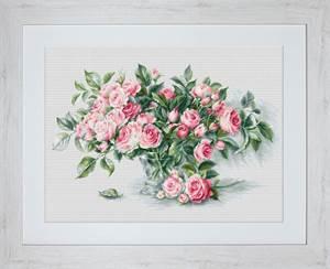 Изображение Букет из чайных роз