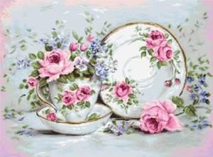 Изображение Трио и цветы