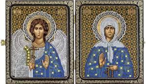 Изображение Православная старица Матрона Московская и Ангел Хранитель