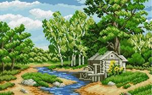 Изображение Лесная река