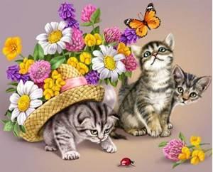 Изображение Три котенка